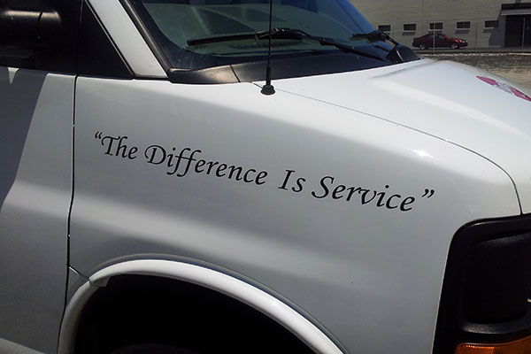 difference is service